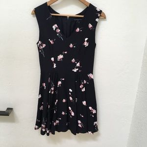 French Connection fit and flare floral dress